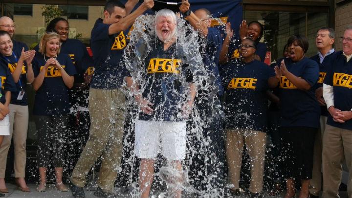 AFGE in ice bucket challenge