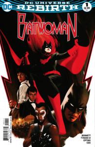 Batwoman #1 (May 2017) cover