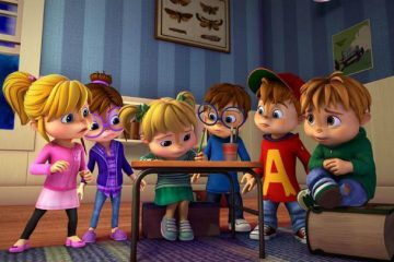 "Nickelodeon's ""Alvin and the Chipmunks"" cast"