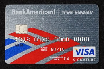 Chipped credit card