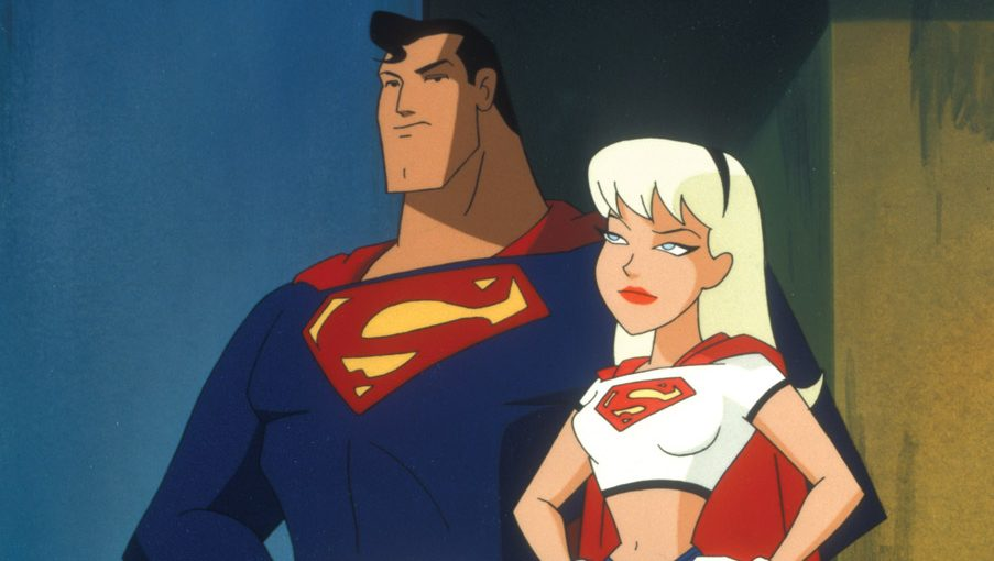 "Supergirl and Superman from ""Superman:TAS"""