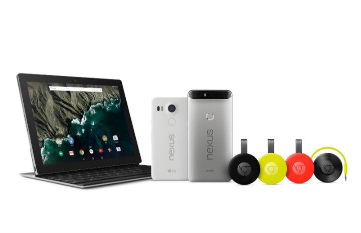 Pixel C, Chromecast, Nexus