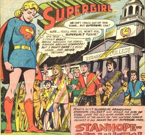 Supergirl at Stanhope College