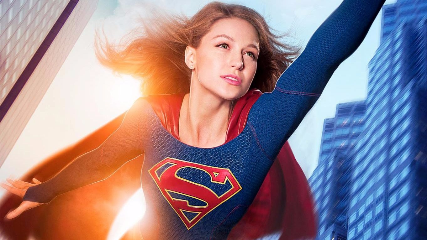Supergirl CBS poster