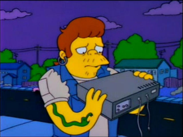 Snake with a Beta VCR