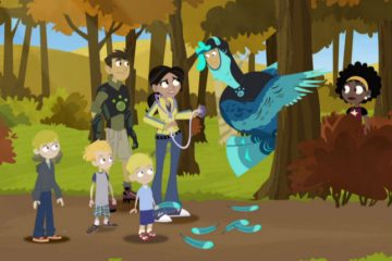 "Wild Kratts in episode ""Turkey Day"""