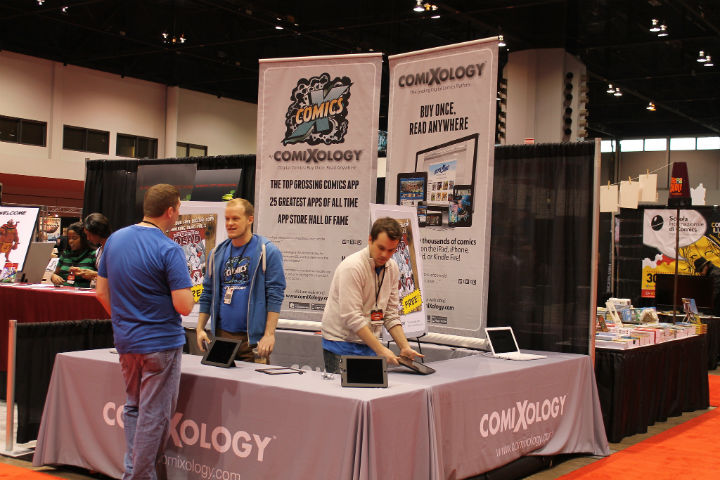 Comixology booth