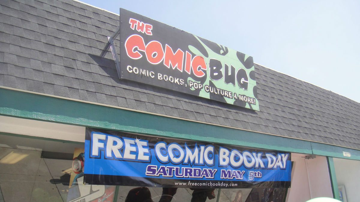 Comic shop on FCBD