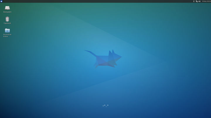Screenshot of Xubuntu Linux 14.04 LTS
