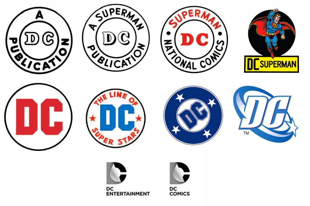 DC Comics logos