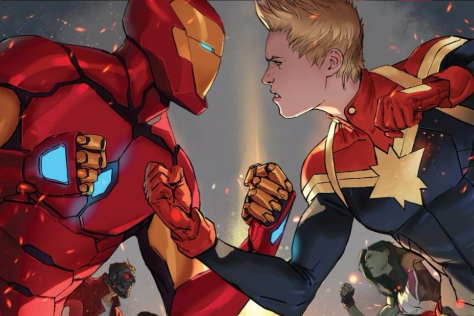 Civil War II #1 cover
