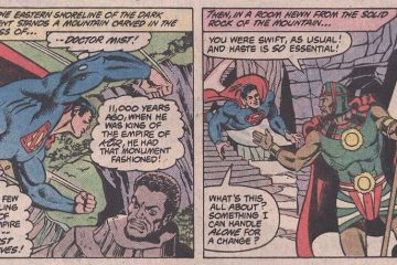 "Doctor Mist and Superman from ""DC Comics Presents"" #46 (June 1982)"