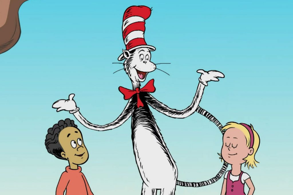 The Cat in the Hat, Nick, and Sally