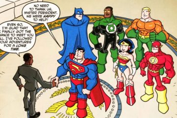 DC Super Friends meet Obama
