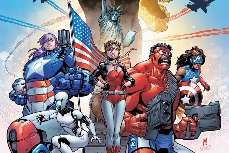 U.S.Avengers #1 (2016) cover