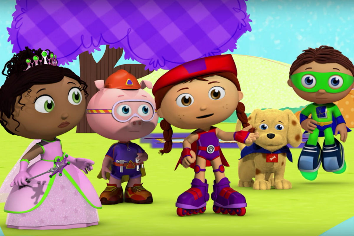 Super Why! cast