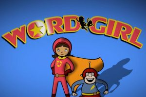 WordGirl and Captain Huggyface