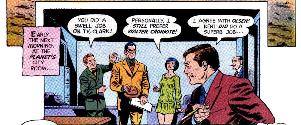 Superman #233 panel