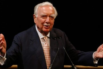 Walter Cronkite at Apollo 11's 35th anniversary
