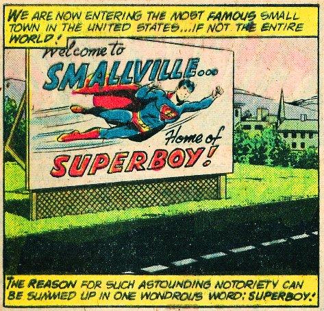 Superboy billboard