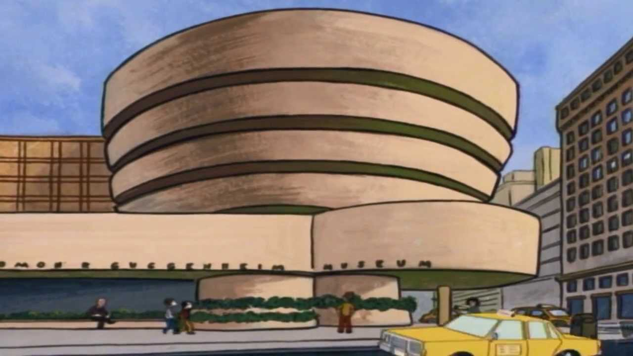 "The Guggenheim Museum from ""The Critic"""