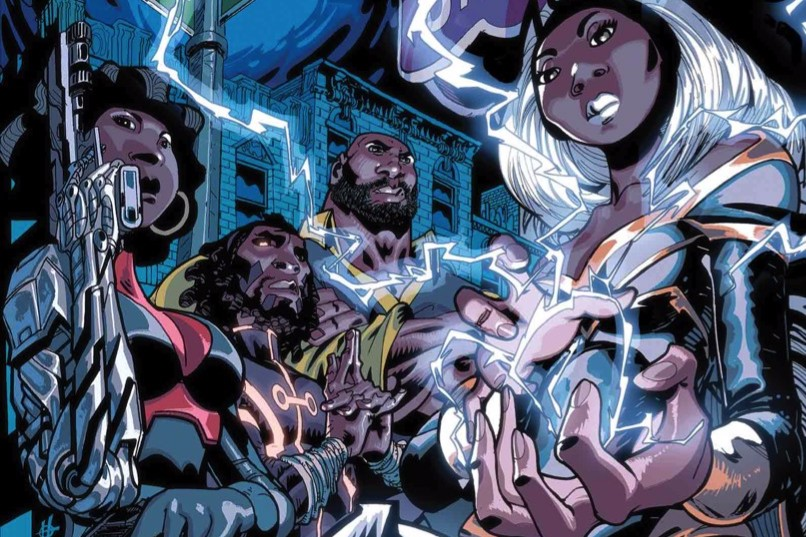Black Panther: The Crew #1