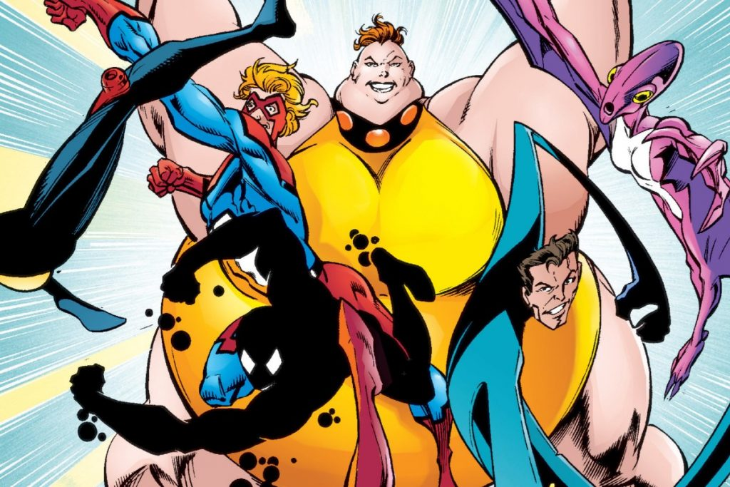 "Great Lakes Avengers from ""Thunderbolts"" #16"