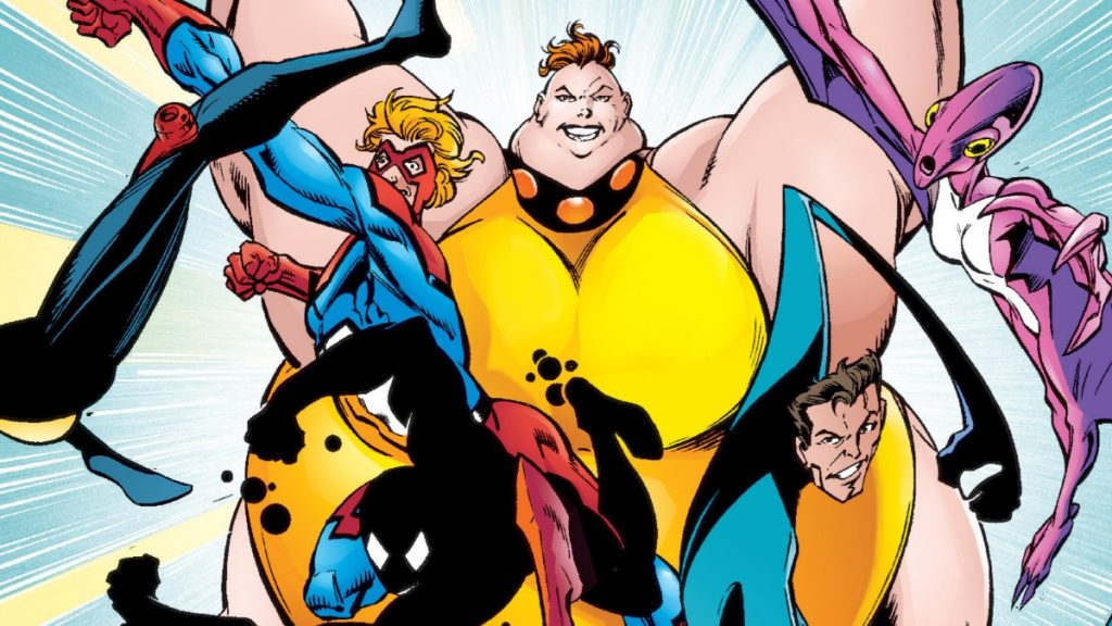 """Great Lakes Avengers from """"Thunderbolts"""" #16"""