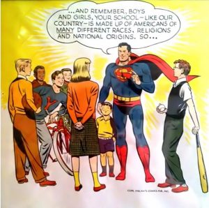 Superman 1950s PSA on immigrants