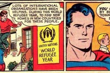 Superman refugee PSA