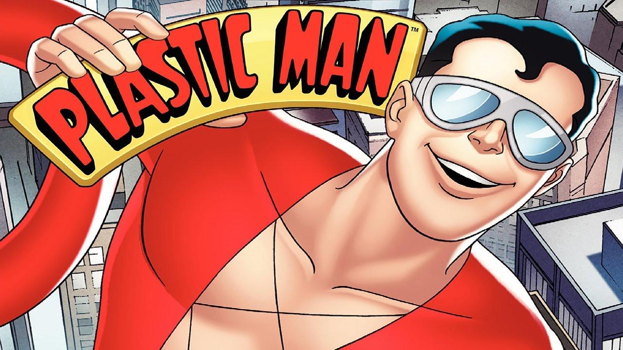 Plastic Man DVD set cover