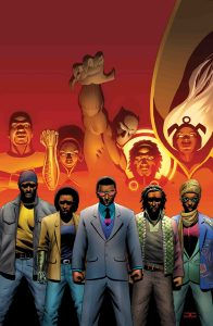 Black Panther and the Crew #6 cover