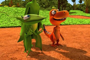Tiny and Buddy from Dinosaur Train