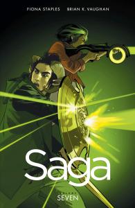 Saga, vol. 7 TPB cover
