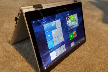 Windows 10 reversible laptop
