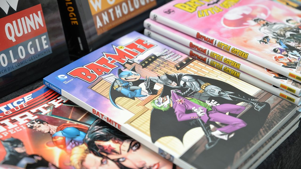 Batman comic TPBs