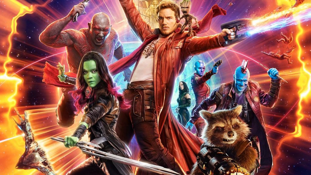 """Guardians of the Galaxy 2"" header"