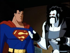 Lobo and Superman