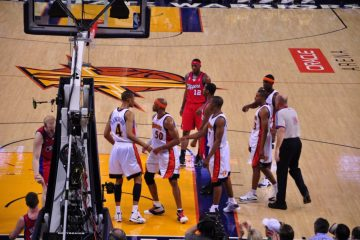 NBA basketball game