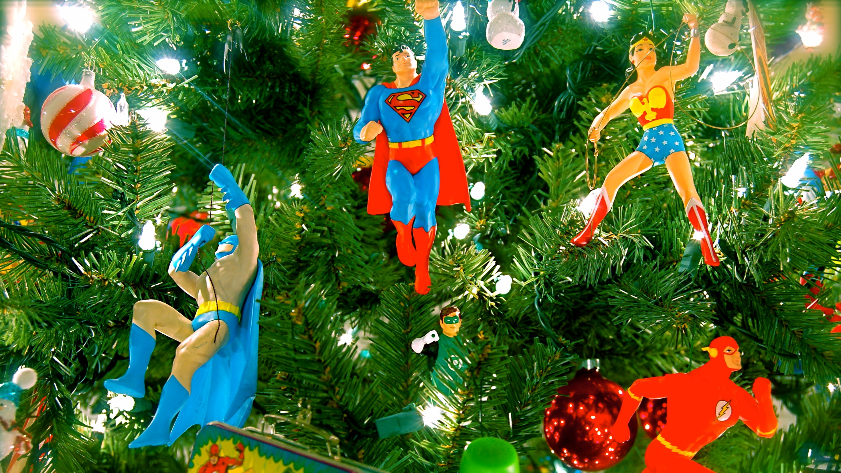 DC Comics Christmas tree oranments