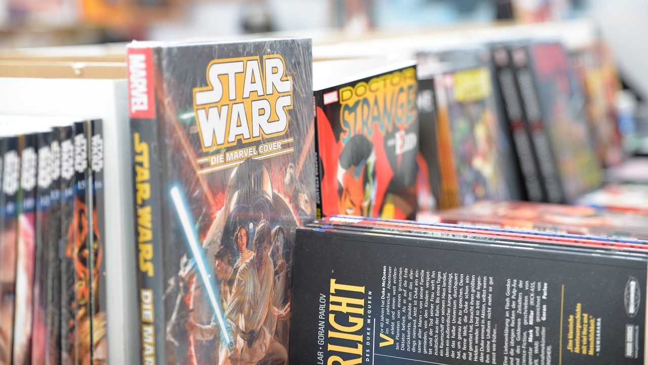Star Wars and Dr. Strange HC comics