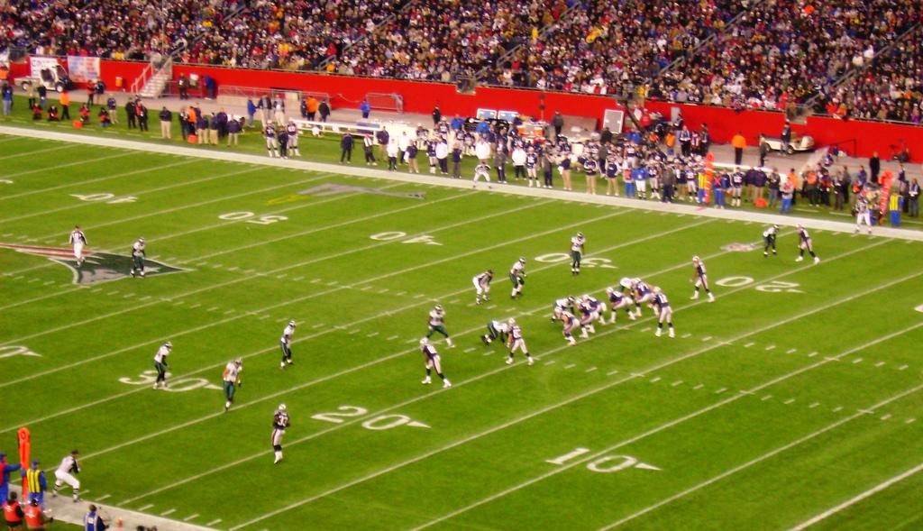 New England Patriots vs Philadelphia Eagles, 2007
