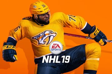 NHL 19 cover featuring PK Subban