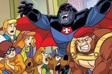 Scooby-Doo Team-Up featuring DCU apes