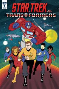 Star Trek vs Transformers #1