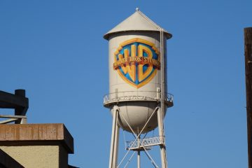 Warner Bros. Studio lot water tower