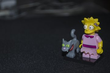 The Simpsons Lego toys