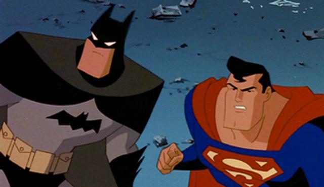DCAU Batman and Superman