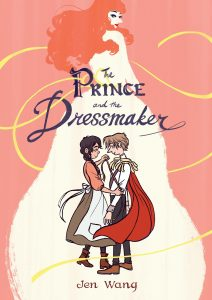 The Prince and the Dressmaker GN cover