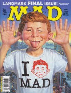 Mad magazine #550 cover